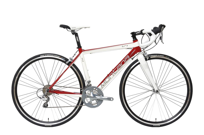 Montana [ モンタナ ] V1 R ( 700C ロードバイク 20-SPEED ) B00IIFO7G2 M [ 有効トップチューブ長 ( C C ) : 530 mm ]|WHITE & RED ( ホワイト & レッド , グロスカラー ) WHITE & RED ( ホワイト & レッド , グロスカラー ) M [ 有効トップチューブ長 ( C C ) : 530 mm ]