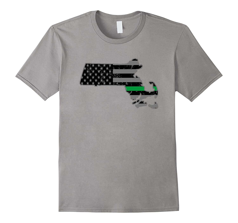 Massachusettes Border Patrol Park Ranger Military Shirt-TH