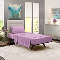 Nestl Bedding Juego de sábanas de 4 piezas - Juego de sábanas 1800 para colchones altos - Sábanas de Microfibra de lujo...