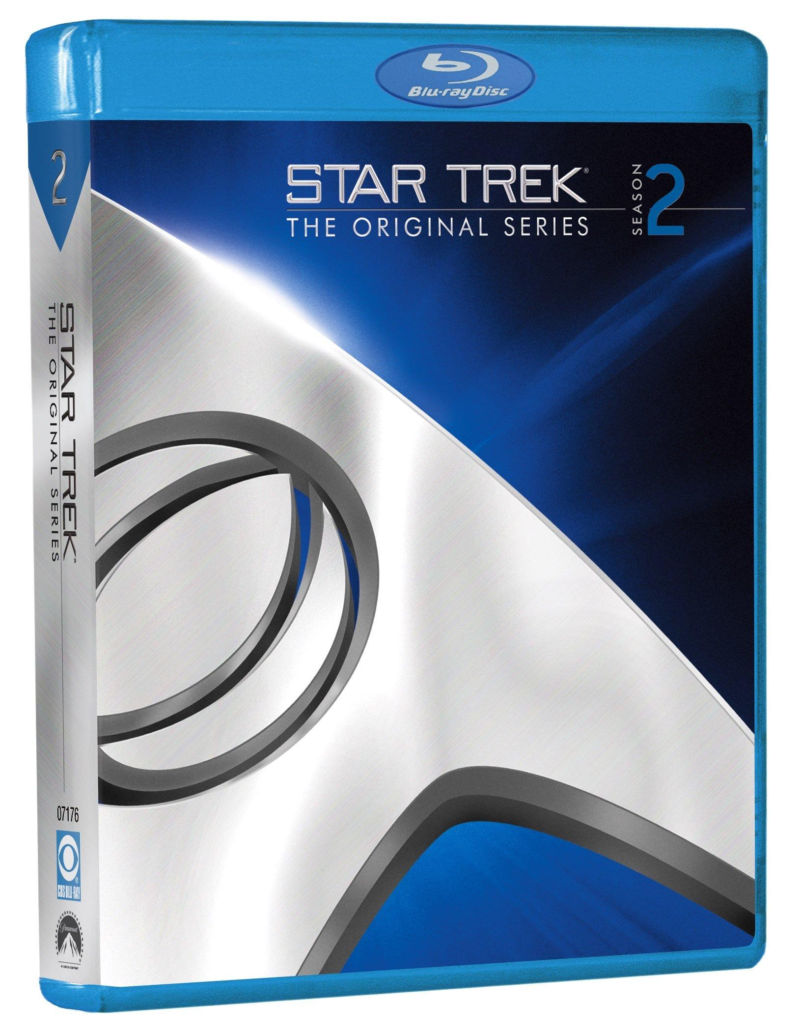 Blu-ray : Star Trek: The Original Series: Season 2 (, Dubbed, Dolby, AC-3, Digital Theater System)