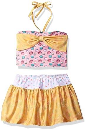 071f37277e27 Amazon.com  Jelly The Pug Girls  Alyssa Bow Tankini Swimsuit  Clothing