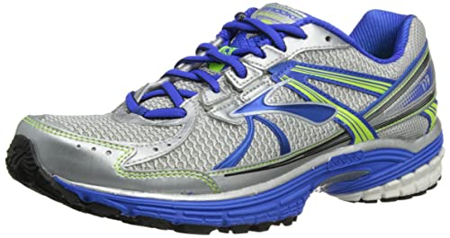 500148ceb4e6c Brooks Men s Defyance 7 Electric Silver Nightlife Mesh Running Shoes 12.5  ...