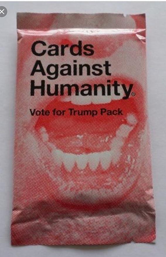 Tarjetas de Lesa Humanidad Vote for Trump: Amazon.es: Deportes y ...
