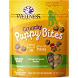 Wellness Crunchy Puppy Bites Grain Free Chicken & Carrots Natural Dog Treats, 6-Ounce Bag