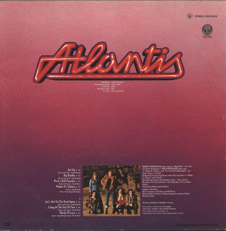 Atlantis - ATLANTIS [LP VINYL] - Amazon com Music