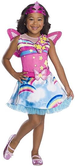 Amazoncom Rubies Costume Co Girls Barbie Fairy Costume Toys