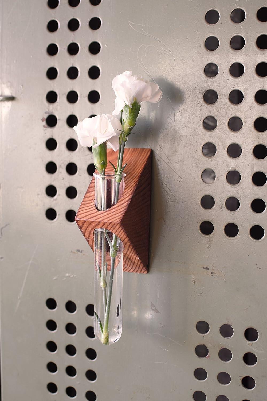 Rustic Magnetic Laboratory Bud Vase