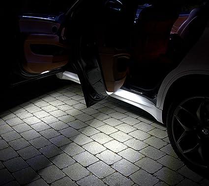 4x SMD luces de salida de la puerta LED adecuados para BMW E46 E36 ...