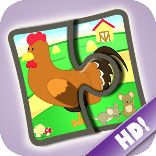 Rompecabezas de granja 123 - Divertido juego educativo