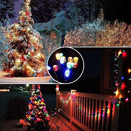 Christmas String Lights Fairy Lights Warm White to Multicolor 67Ft 200led UL Certificated for Home Patio,Garden,Party,Wedding,Christmas Tree Lights Outdoor Indoor Decoration Plug in