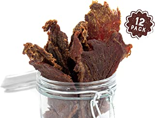 product image for Mission Meats Grass Fed Beef Jerky HEALTHY snacks low carb, high protein, No MSG, No nitrates & Hand made in small batches | Made In The USA | Keto approved & Paleo certified natural ingredients