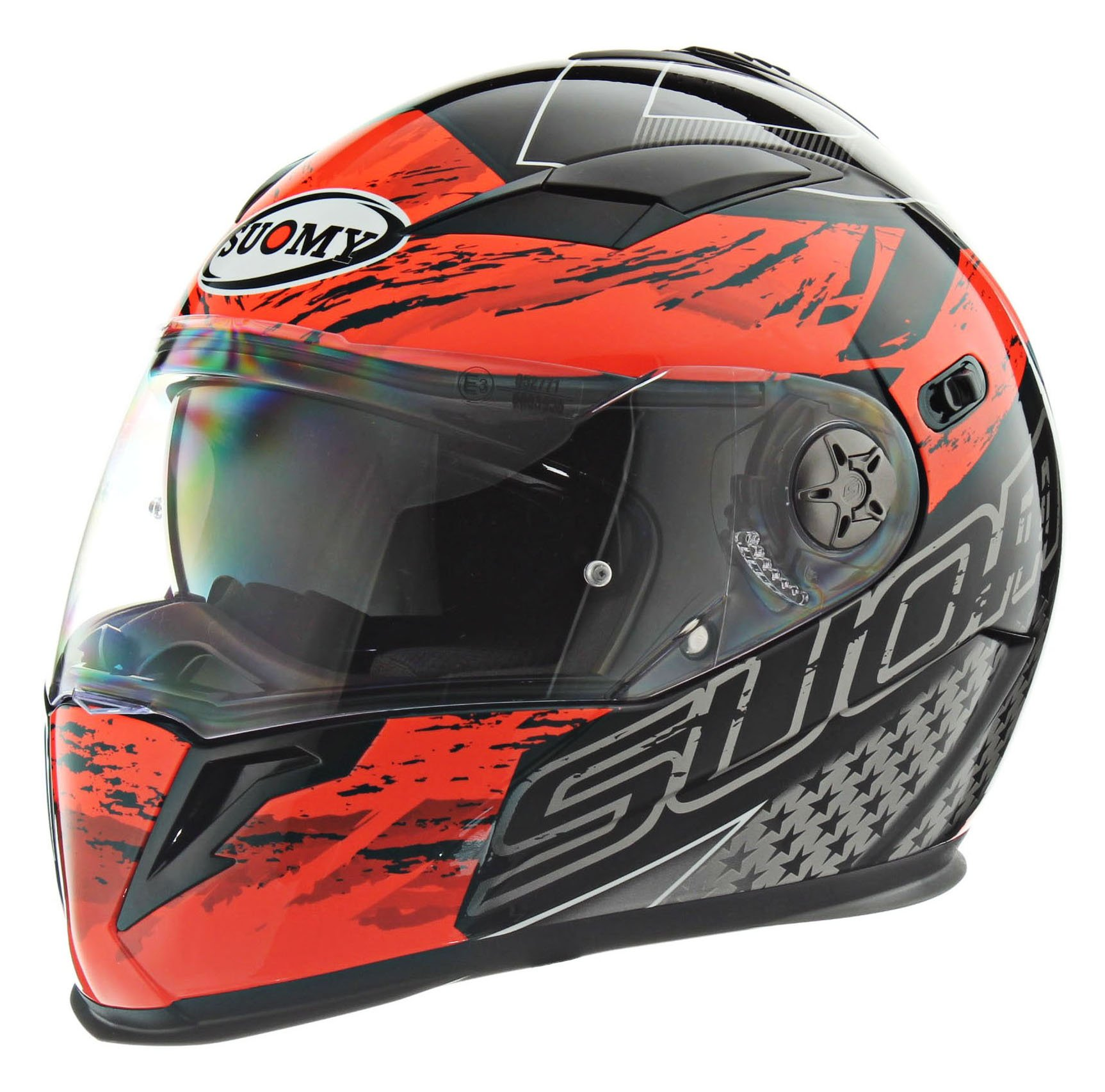 Suomy KTHA0007-2X Halo Helmet-Drift RED Extra Large by Suomy