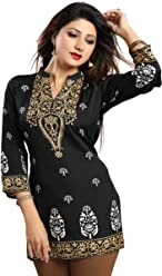 Unifiedclothes Women Fashion Fancy Indian Kurti Tunic Kurta Top Shirt Dress MI570
