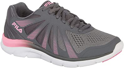 85a233ae9690 Fila Womens Memory Fraction 2 Running Shoes 6.5 Grey Pink