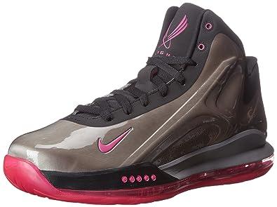 Nike Mens Hyperflight Max Mtlc PewterPink FoilBlack Basketball Shoe 85 Men US