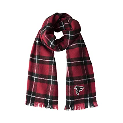 Amazon.com   Littlearth NFL Atlanta Falcons Plaid Blanket Scarf ... 7098b68c2