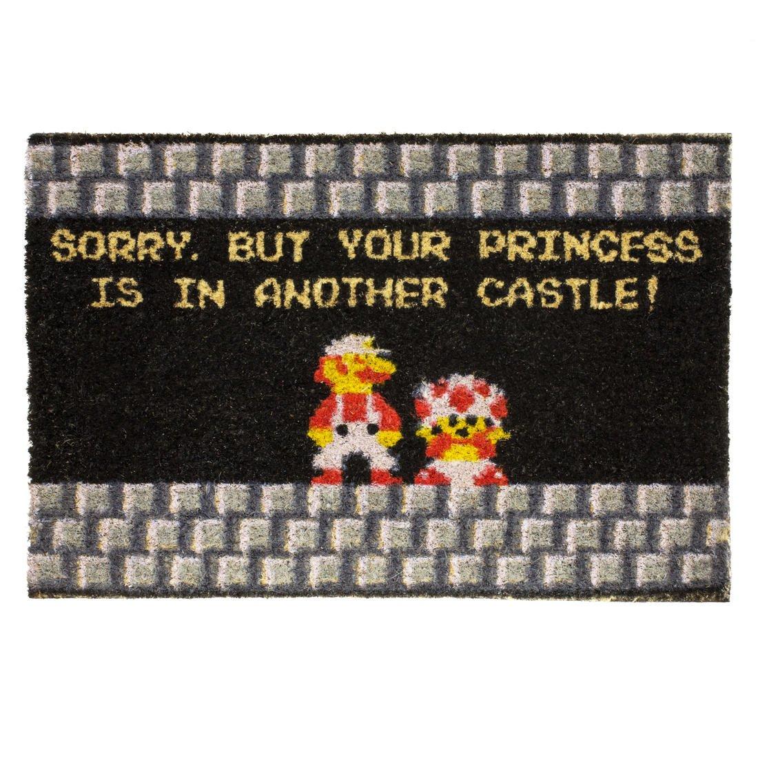 getDigital 12534 Your Princess Is in Another Castle Nerd Door Mats ...