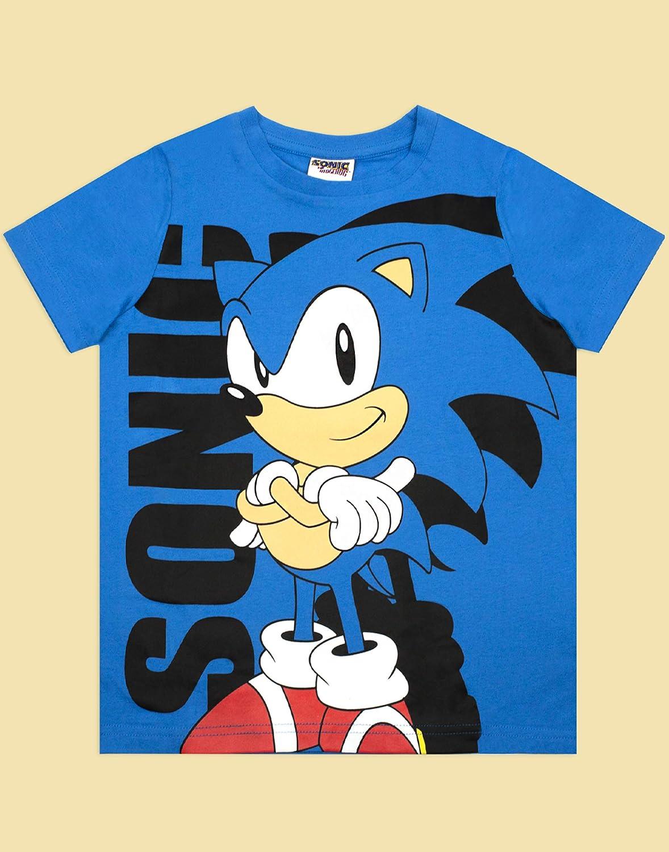 Vanilla Underground Sonic The Hedgehog Boys Blue Personaggio del Fumetto T-Shirt