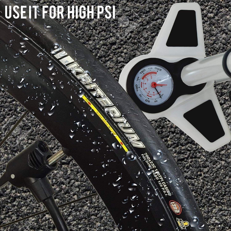 VeloChampion Bomba Pro De Bicicleta Profesional De Bastidor/Pie ...