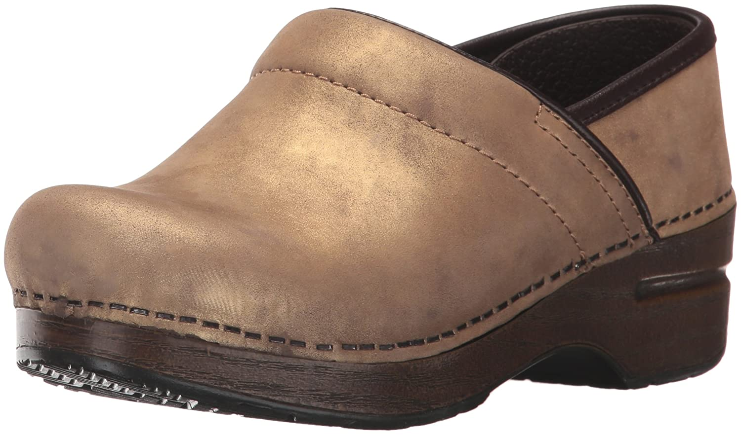 Bronze Metallic Dansko Women's Professional Clog