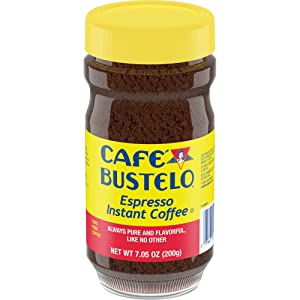 Café Bustelo Coffee Espresso Style Instant Coffee, 7.05 Ounces