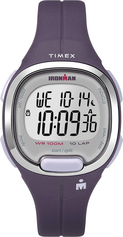Timex - Reloj Digital para Mujer con Correa de Resina