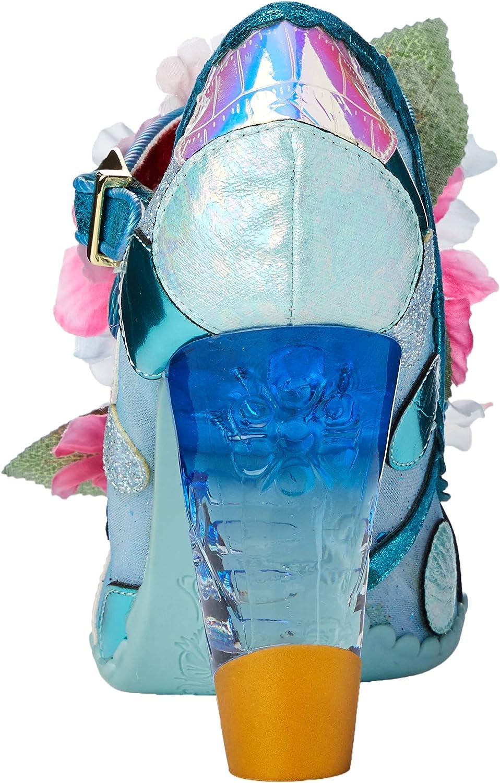 Irregular Choice Seafoam Queen Zapatos de tac/ón con Punta Abierta para Mujer