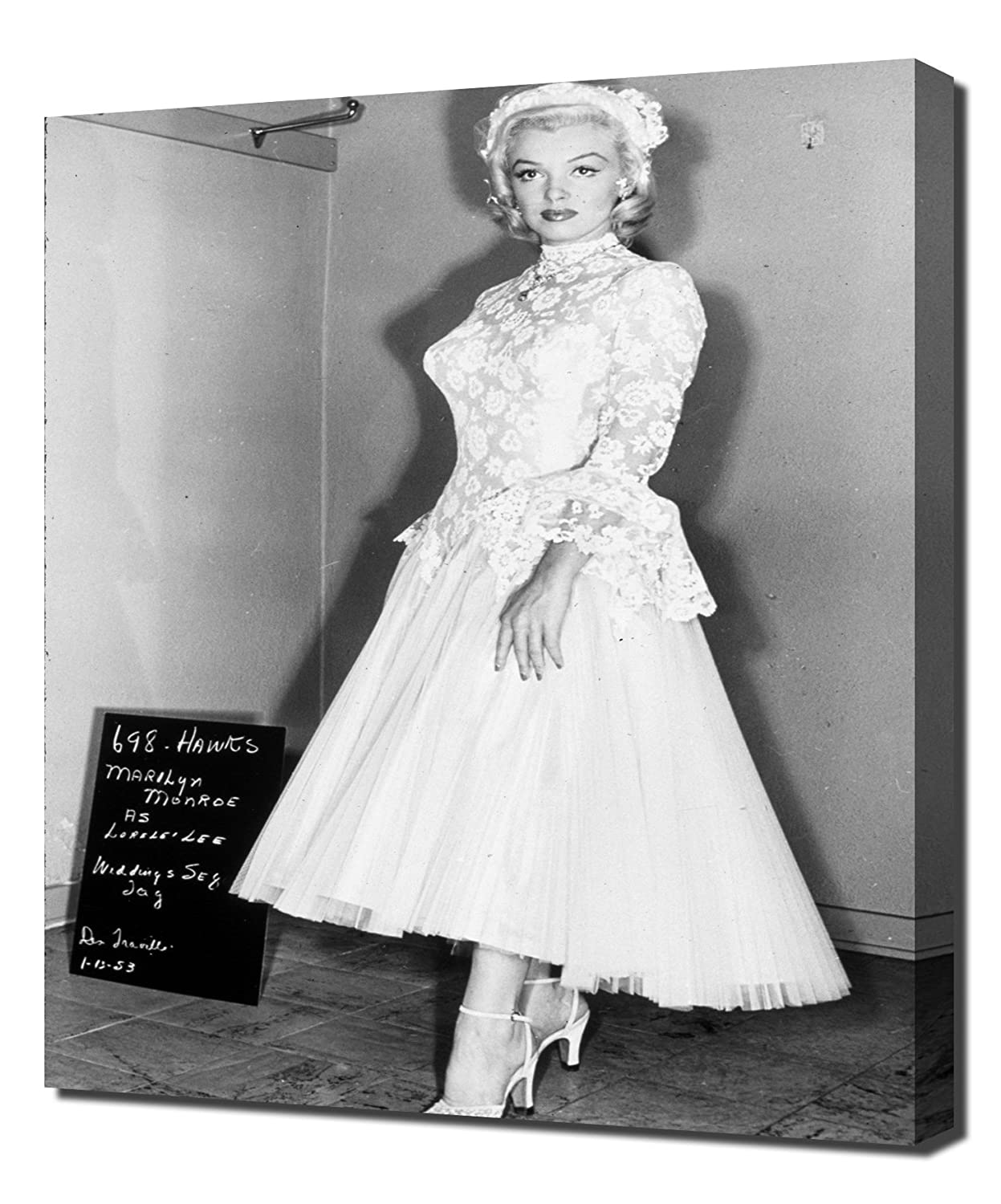Amazon Monroe Marilyn Gentlemen Prefer Blondes42 Canvas Art Print Posters Prints: Gentlemen Prefer Blondes Wedding Dress At Websimilar.org