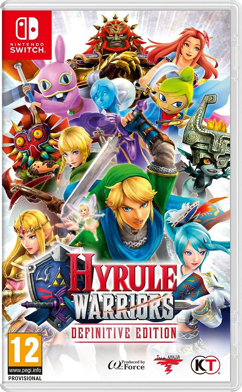 Hyrule Warriors Definitive Edition Nintendo Switch Amazon Co Uk Pc Video Games