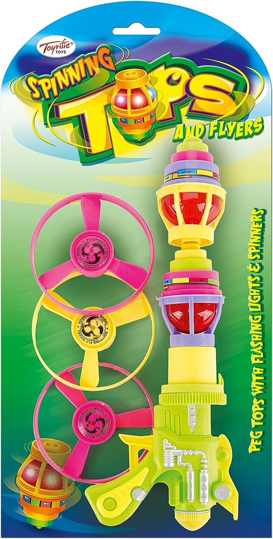 Toyrific – Spinning Tops y Volantes: Amazon.es: Juguetes y juegos