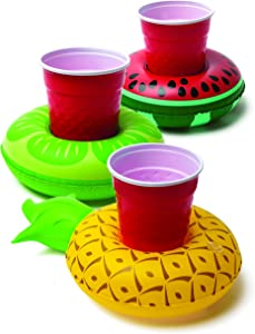 Big Mouth Toys Tropical Fruit Beverage Boats (3 Count)
