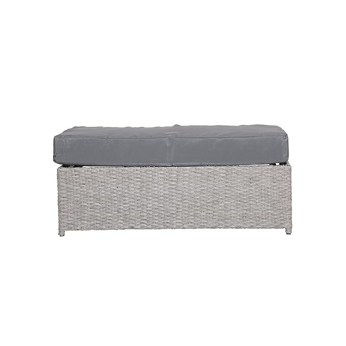 Ribelli Multifunción sofá sofá ratán sintético Incluye Cojín ...