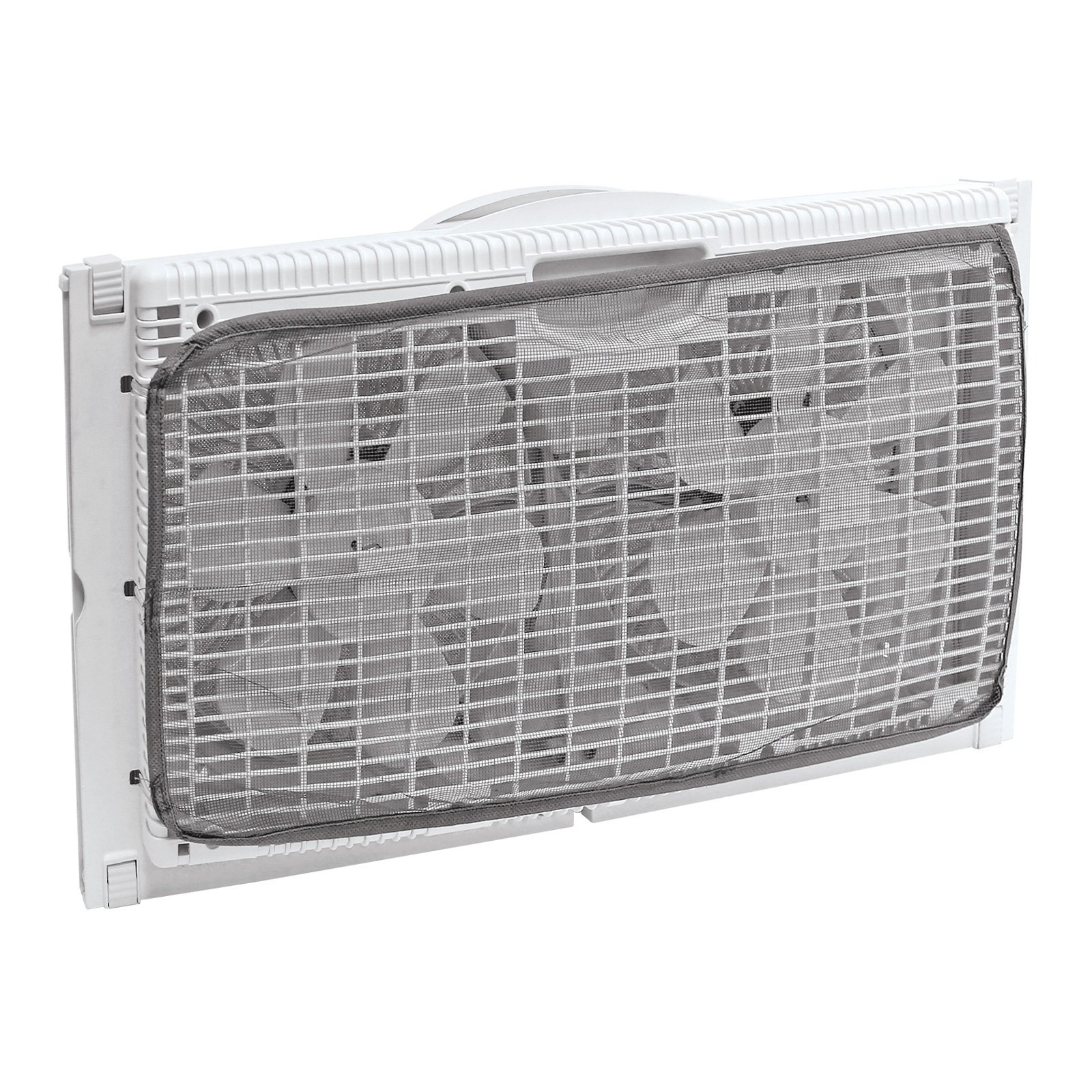 HowPlumb Portable Twin 9'' Reversible Window Fan with Remote Control