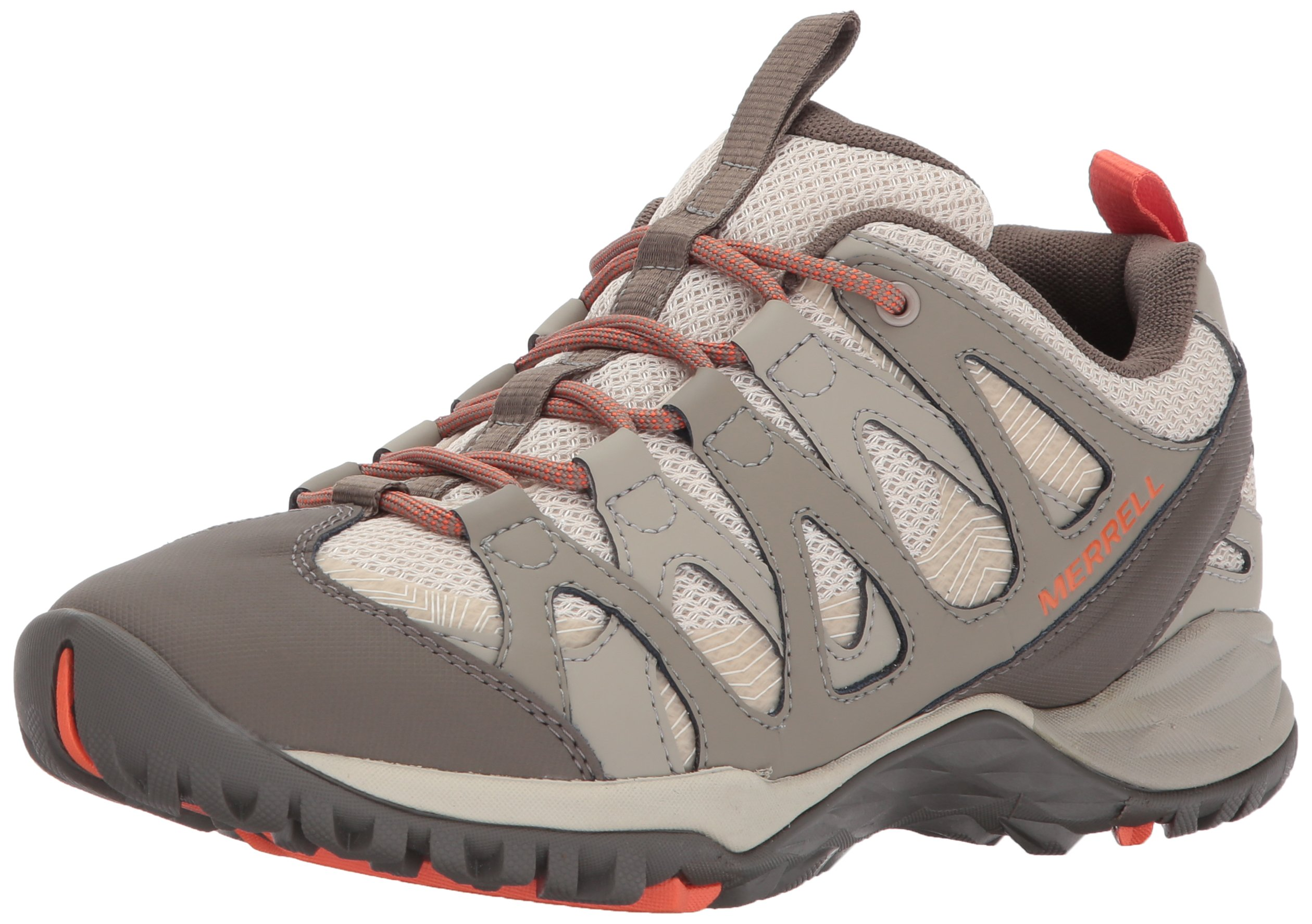 Merrell Women's Siren Hex Hiking Shoe, Oyster Grey, 8.5 M US