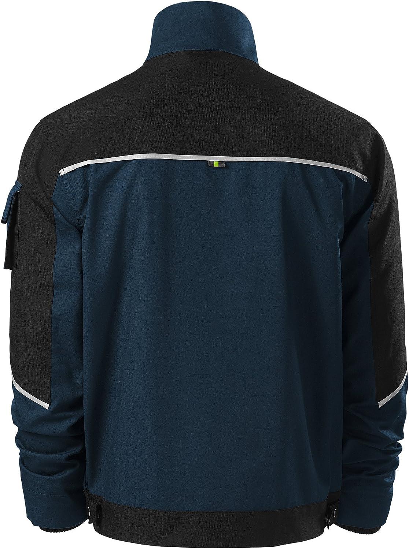 Adler Herren Cordura Arbeitsjacke mit multifunktionalen Taschen Reflektionsstreifen Mehrere Farben XXL