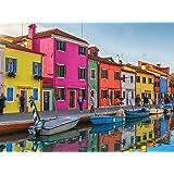 1000 Piece Puzzle, Colorful Venice Jigsaw Puzzle
