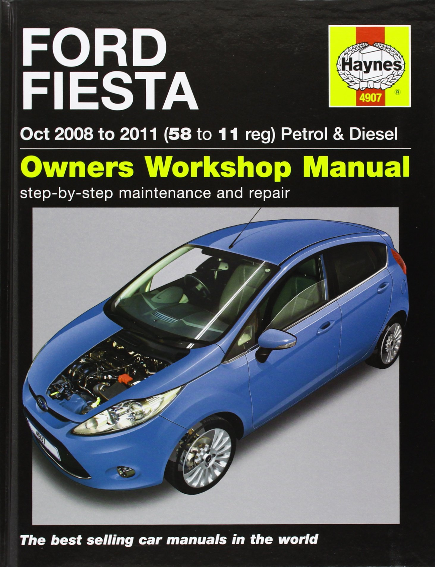 ford fiesta petrol diesel service and repair manual 2008 to 2011 rh amazon co uk Ford Fiesta Owner's Manual 2012 Ford Fiesta Oil Reset