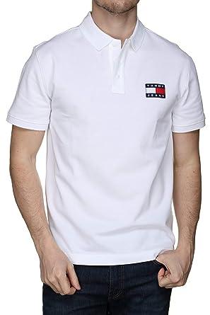 Tommy Jeans - Polo Blanco XS: Amazon.es: Ropa y accesorios