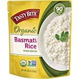 Tasty Bite Organic Basmati Rice, Microwaveable Cooked Rice, 8.8 Ounce (Pack of 6)