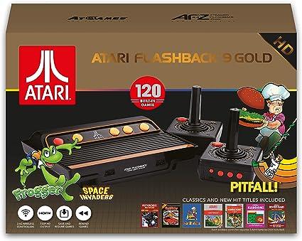 Console Retro - Atari Flashback 9 Gold - 130 Jeux - Edition 2018-2019 [Importación francesa]: Amazon.es: Videojuegos