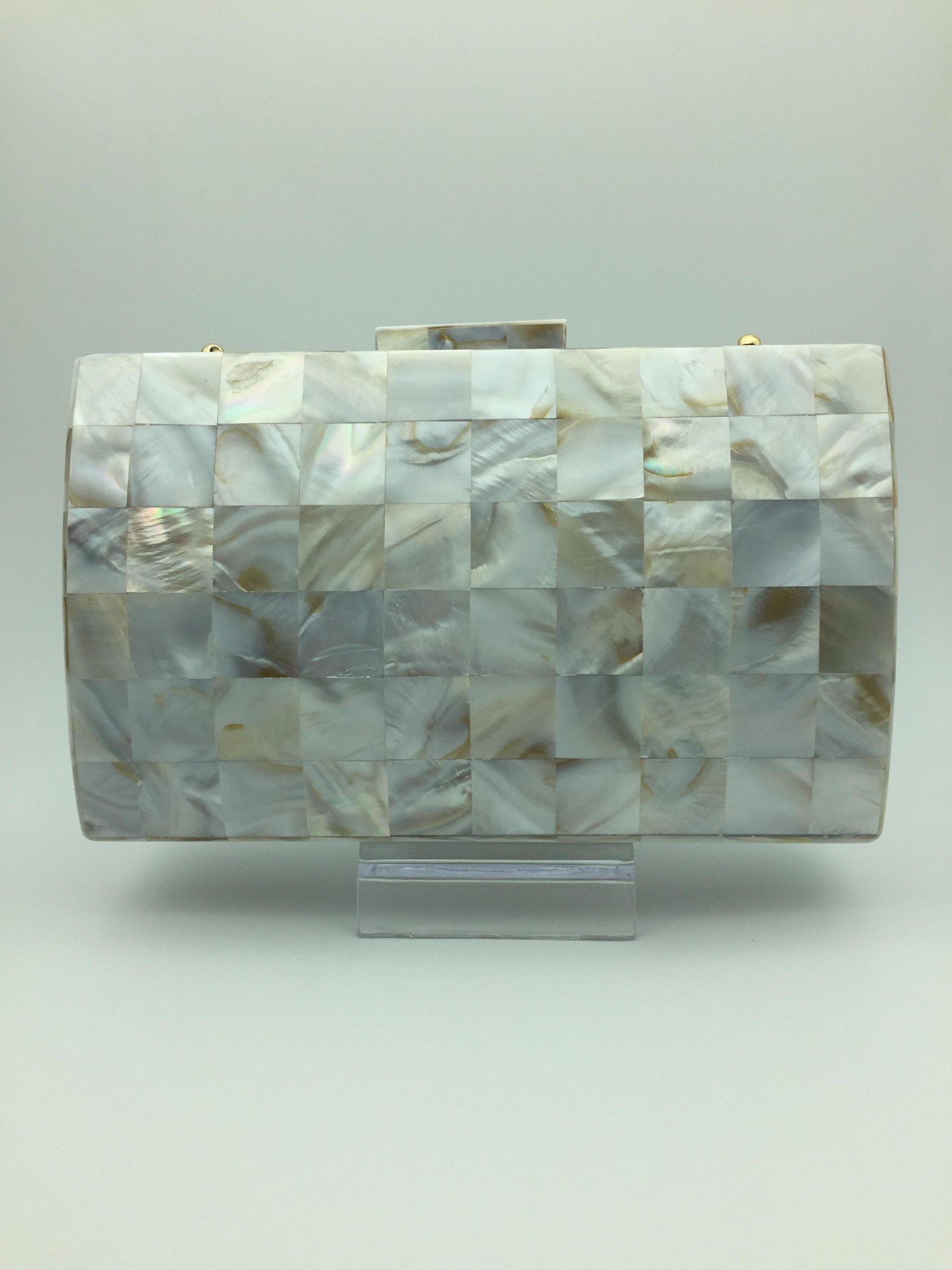 Clutch Bag Mother of Pearl