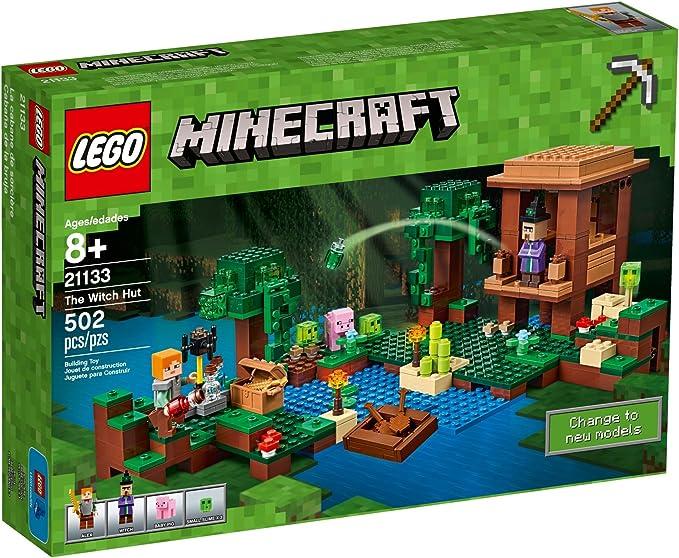 Lego Minecraft - Cabaña de la Bruja (21133): Amazon.es: Juguetes y ...