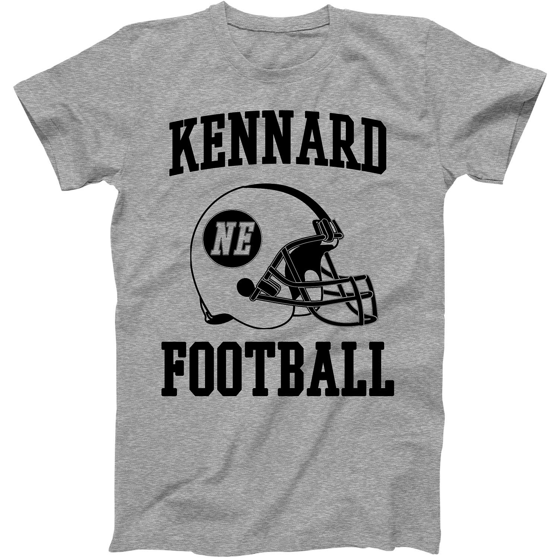 Vintage Football City Kennard Shirt For State Nebraska With Ne On Retro Helmet Style