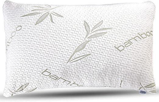 Amazon Com Bamboo Pillow Premium Pillows For Sleeping Memory
