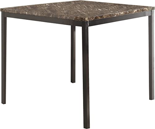 Homelegance Tempe Counter Height Table, 40 x 40 , Brown