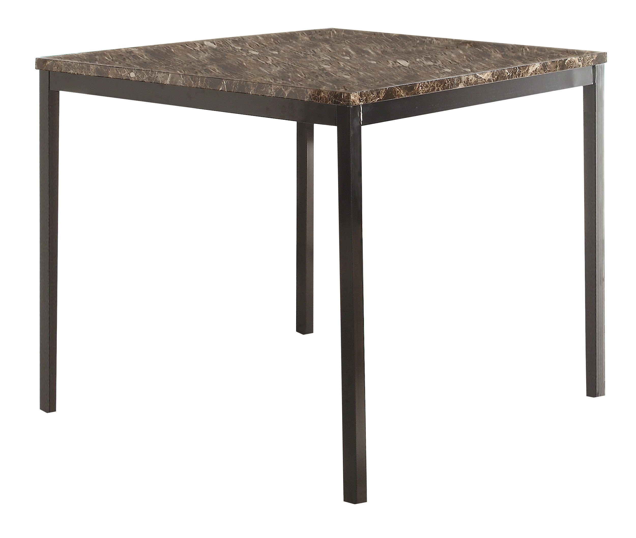 Homelegance Tempe Counter Height Table, 40'' x 40'', Brown by Homelegance