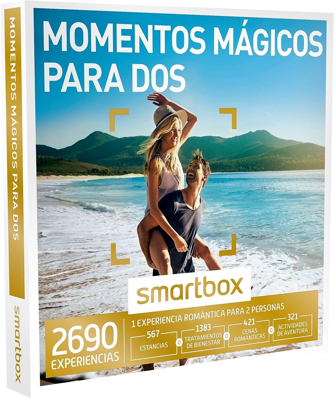 Smartbox - Caja Regalo -Momentos MÁGICOS para Dos - 2690 experiencias como escapadas, SPA y masajes, cenas o Actividades de Aventura: Amazon.es: Deportes y aire libre