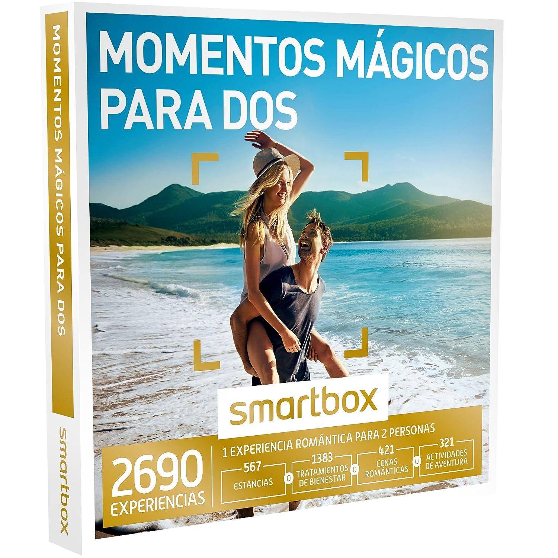 SMARTBOX - Caja Regalo -MOMENTOS MÁGICOS PARA DOS - 2690 experiencias como escapadas, spa y masajes, cenas o actividades de aventura: Amazon.es: Deportes y ...