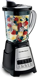 Hamilton Beach Power Elite Blender with 12 Functions for Puree, Ice