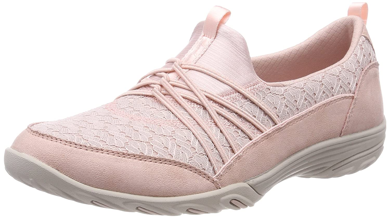 Skechers Women's Empress-Wide-Awake Sneaker B076TP29FF 5 B(M) US|Pink